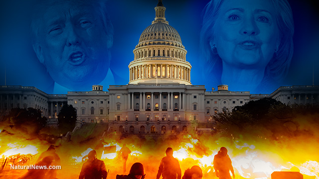 ANALYSIS: Election outcome scenarios reveal 95% chance of widespread post-election violence… streets of America to run red with blood
