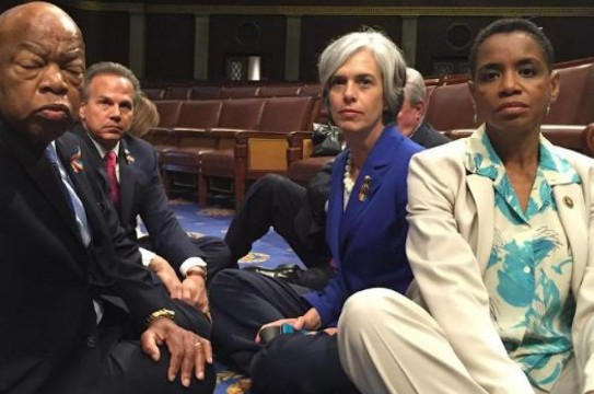 democrat-sit-in